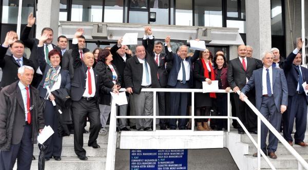 Zonguldak Belediye Başkanı Mazbatasını Aldı