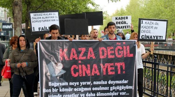 Zonguldak, Kastamonu Ve Bartın'da Soma İçin Yürüdüler