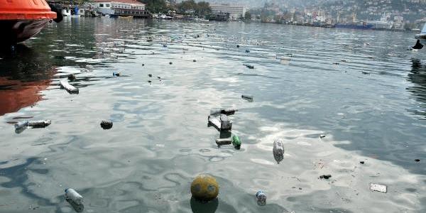 Zonguldak Limani Yine Çöple Doldu