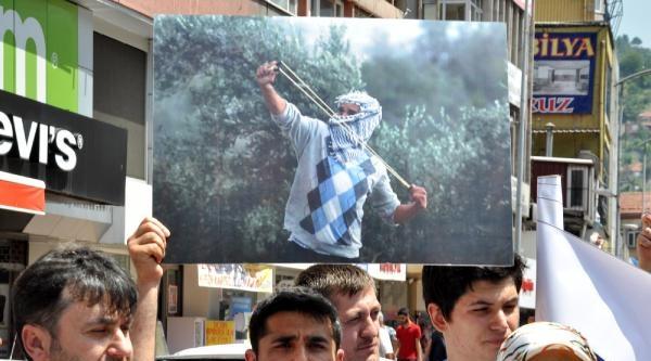 Zonguldak Ve Bartın'da İsrail Protestosu