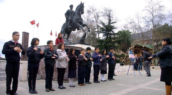 Zonguldak'ta  Ağlatan Tören