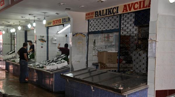 Zonguldak'ta Balık Tezgahları Boş Kaldı