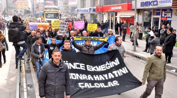 Zonguldak'ta Berkin Elvan Eylemi