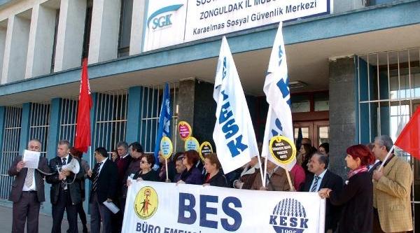 Zonguldak'ta Bütçe Protestosu