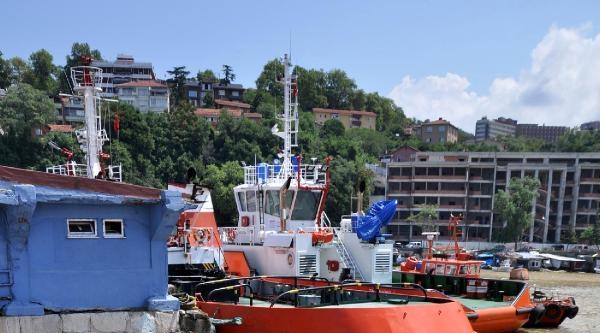 Zonguldak'ta Deniz Çamur Rengini Aldı (ek Fotoğraflar)