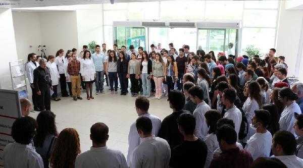 Zonguldak'ta Diş Hekimliği Fakültesi'nde Soma İçin Anma