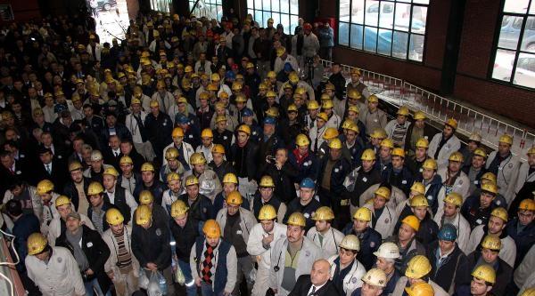 Zonguldak'ta Grizu Faciasında Ölen 263 Maden İşçisi Anıldı
