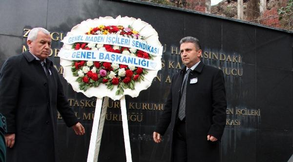 Zonguldak'ta Grizu Faciasında Ölen 263 Maden İşçisi Anıldı (2)