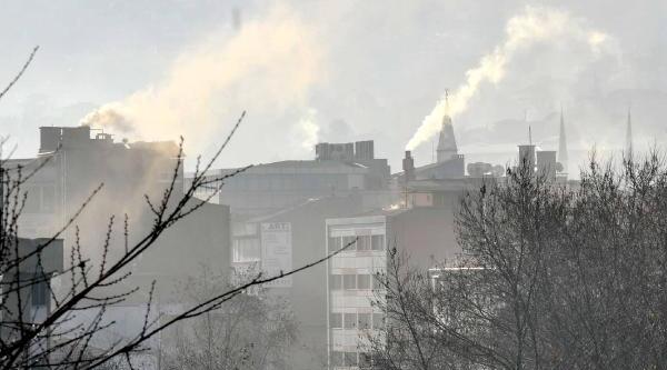 Zonguldak'ta Hava Kirliliği Alarmi