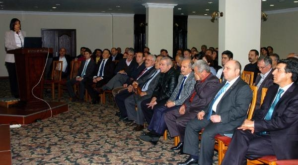 Zonguldak'ta 'iş Teftişi' Toplantisi