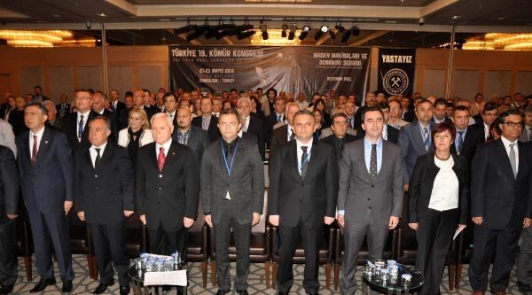 Zonguldak'ta Kömür Kongresi Başladı