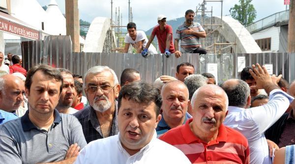 Zonguldak'ta Köprü Eylemi