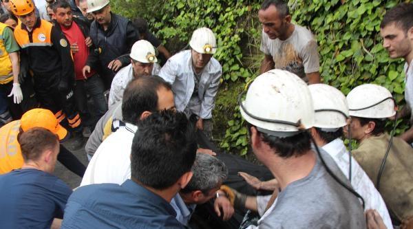 Zonguldak'ta Maden Ocağında Göçük: 1 İşçi Mahsur (ek Fotoğraflar)