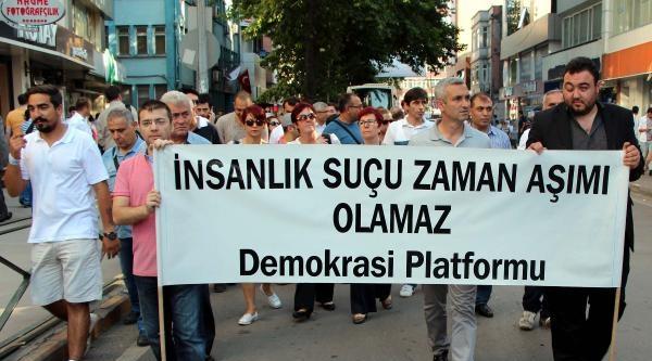 Zonguldak'ta, Madımak Oteli'nde Ölenler Anıldı