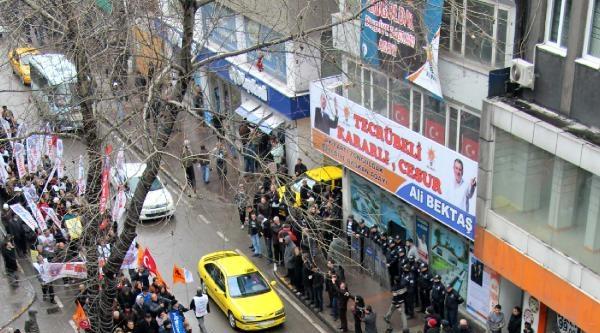 Zonguldak'ta Meb Yasa Tasarısı Protestosu