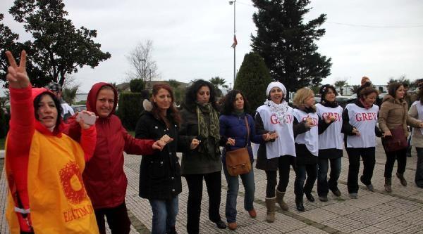 Zonguldak'ta Meb Yasa Tasarısı Protestosu (2)