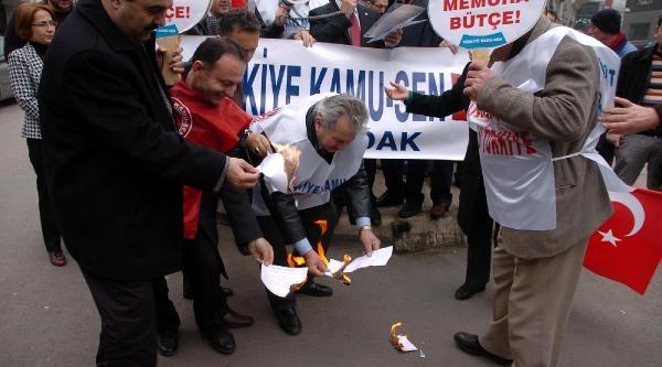 Zonguldak'ta Memurlar Bordro Yakti