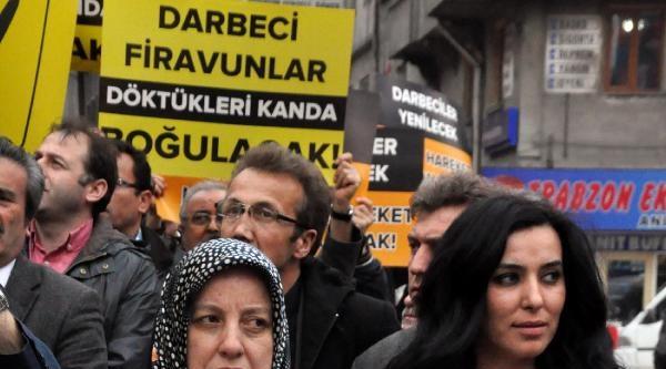 Zonguldak'ta, Mısır'daki İdam Kararları Protesto Edildi