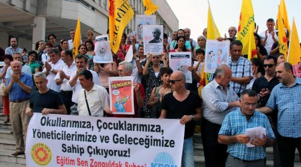 Zonguldak'ta Müdür Atamalarına Tepki