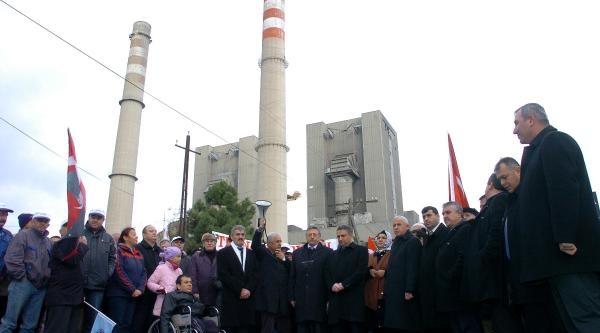 Zonguldak'ta Özelleştirme Protestosu