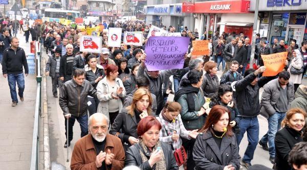Zonguldak'ta 'ses Kaydı' Yürüyüşü