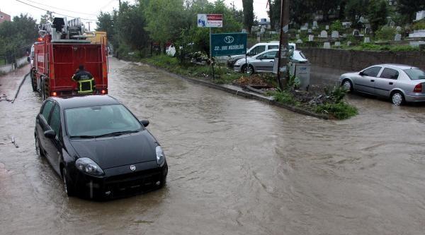Zonguldak'ta Şiddetli Yağmur (2)