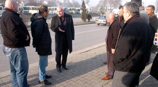 Zonguldak'ta Taksici- Minibüsçü Anlaşmazliği
