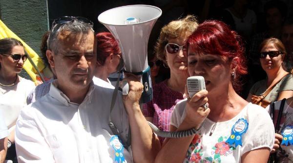 Zonguldak'ta Torba Yasa Protestosu