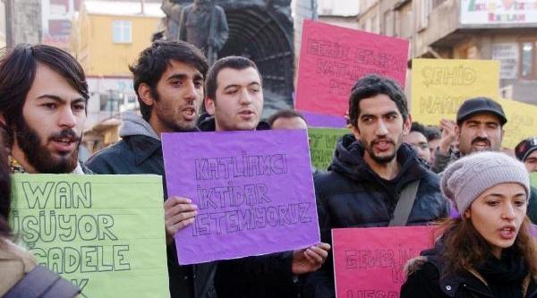 Zonguldak'ta Yüksekova Protestosu
