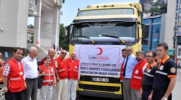 Zonguldak'tan Irak'taki Türkmenlere Yardım