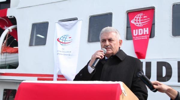 'zübeyde Hanım Müze Gemisi'ni Binali Yıldırım Hizmete Açtı