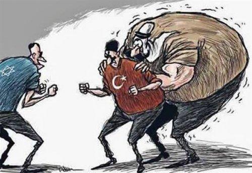 Arap çizerlerden Türkiye farkı ...