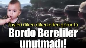Tüyleri diken diken eden görüntü! Bordo Bereliler unutmadı!