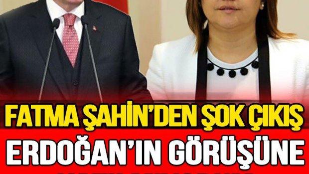 Fatma Şahin, Erdoğan'ın CHP'li belediyeler için yaptığı benzetmeye karşı çıktı