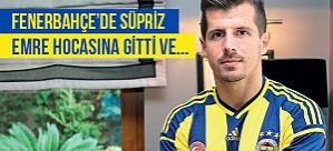 Fenerbahçe'de sürpriz! Emre hocasına gitti ve...