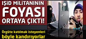 IŞİD militanının foyası ortaya çıktı