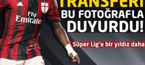 Transferi bu fotoğrafla duyurdu! Süper Lig'e bir yıldız daha...